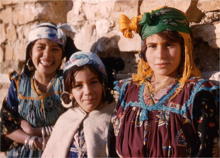 Amazigh Girls From Kabyle region in northern Algeria